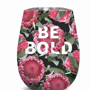 BE Bold Insulated Wine Glass